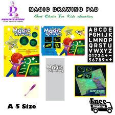 Magic Draw luminous Light Fun Drawing Board Pad Educational gift Toys For Kids