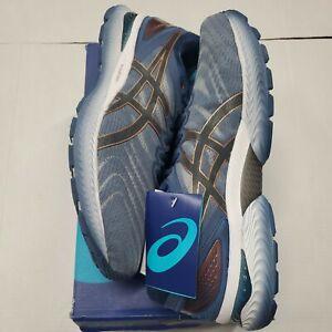 NIB ASICS Gel-Nimbus 22 Running Shoes Glacier Grey Extra Wide(4E) Size 11.5 New