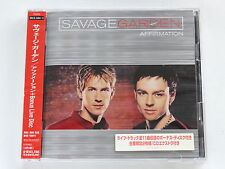 SAVAGE GARDEN Affirmation + Bonus Live Disc SRCS-2464/5 JAPAN 2CD w/OBI 186az62