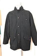 manteau enduit noir à capuche hiver homme SERGE BLANCO taille XXL EXCELLENT ÉTAT