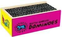 Keith Haring Wooden Dominoes [New ] Wood, Table Top Game