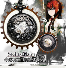 Anime Steins;Gate Mechanical watch Pocket Watch Cosplay Gift Chain
