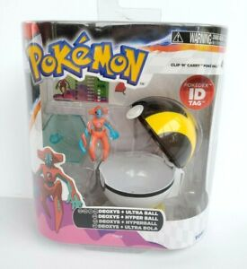 2013 Tomy Pokemon Clip n Carry Deoxys & Ultra Ball XY Sealed Figure Set