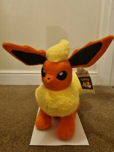 Pokemon Build A Bear Flareon New With Tags