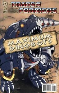 Transformers Maximum Dinobots 1A FN 2008 Stock Image