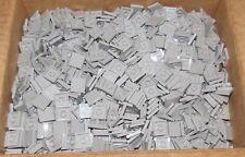 New Lego 2x2 Light Grey Flat Tiles (Lot of 50)