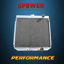 3 Row For Ford Falcon XR XT XW XY 289 302 351 GT Windsor Aluminum Radiator 66-82