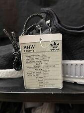 Adidas Nmd Boost sz 9 Right Woven 1 SHOE ONLY Sample Rare Promo Vintage Ultra