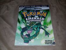 Official Nintendo Power Pokemon Emerald Strategy Guide
