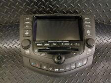 2004 HONDA ACCORD 2.2i CTDi 4DR SAT NAV NAVIGATION SYSTEM 39050-SEF-E410-M1