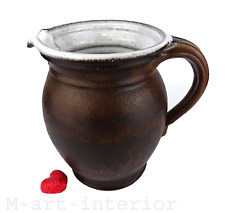 alter Tonkrug, Milchkrug, Keramik Krug, Bauerngefäß, Bauernkrug 20er 30er Jahre