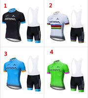 2019 astana Bicicletta Bici Ciclismo Abbigliamento Maglie Maillot Shorts GEL pad