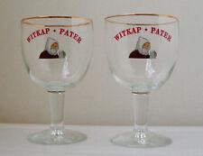 WITPAK-PATER BELGIAN ALE BEER CHALICE GLASSES/PAIR