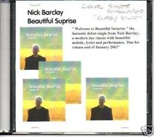 (933Q) Nick Barclay, Beautiful Surprise - DJ CD