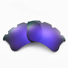 New Walleva Polarized Purple Vented Lenses For Oakley Flak Jacket XLJ