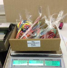 BOX OF BROKEN ROCK - CANDY LOLLYPOP DUMMY RETRO SWEETS BUFFET ROUND LOLLY LOLLY