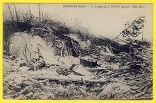cpa 77 - LORROY sur LOING (Seine et Marne) Une Rue du VILLAGE Détruit INONDATION