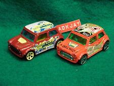Hot Wheels ~ Morris Mini ~ 2 Cars