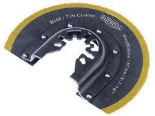 FAITHFULL-Strumento multifunzione Bi-Metal SEGA RADIALE Tin rivestita lama di 87 mm