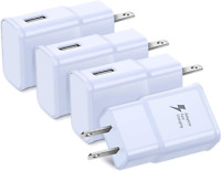 4-Pack Fast Charger Adapter USB Home Wall Outlet For Apple iPhone 8 7 Plus XS XR