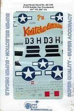 P-47D Bubble Top Thunderbolt 397th FS/368th FG 1/48 Superscale 48-1105