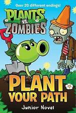 NEW Plants vs. Zombies: Plant Your Path Junior Novel by Tracey West