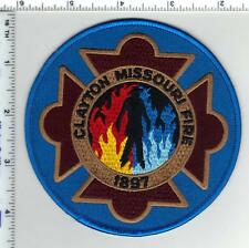 Clayton Fire Department (Missouri) Shoulder Patch from the 1980's