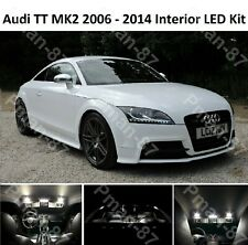 PREMIUM Audi TT Mk2 8J interior LED Light Kit Upgrae Xenon White ERROR FREE NEW