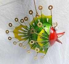 Metal Punk Fish Hanging LED Tea Light / Tealight Holder  - Steampunk Fish