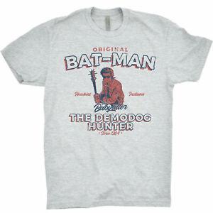 Stranger Things T Shirt Bat-man Babysitter Demodog Hunter Steve Harrington 11