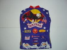 Radtrikot Triple Bypass 2002 Team Evergreen Ärmellos Cycling Jersey Shirt Gr. M