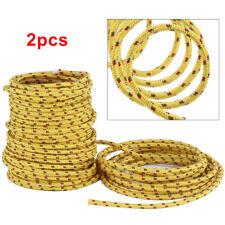 2Pcs Large 20M Braided polypropylene poly rope cord yacht boat sailing climbing