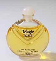 VTG RARE Mini Eau Toilette ✿ MAGIE NOIRE by LANCOME ✿ Perfume Parfum PARIS 7,5ml