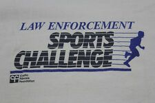 Law Enforcement Sports Challenge Large tan shirt see pictures