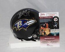 Brandon Carr Signed Autographed Baltimore Ravens Mini Helmet 2JSA
