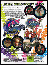 GREAT BIKINI OFF-ROAD ADVENTURE__Original 1994 Trade AD movie promo__LAUREN HAYS