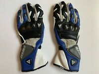 Dainese Racing Moto Carbon Leather Gloves Size XS Motorcycle