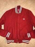 kith x coca cola X Golden Bear Varsity Jacket Mens Sz M. AUTHENTIC....pre Owned