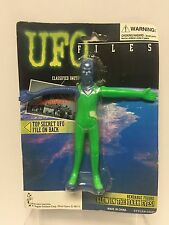 UFO Files - Galactic Commander Bendable Alien w Glow in the Dark Eyes