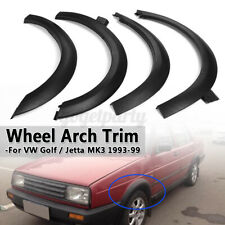 For VW Golf Jetta MK3 1993-99 Front Rear Fender Flares Wheel Arches Molding Trim