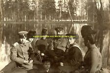 "mm483 - Czar Alexander III Romanov& family at Gatchina Park - Royalty photo 6x4"""