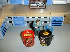 1/18 -There's a pair (2) of OIL DRUM's  for your Shop/Garage/Dioramas-SCALE