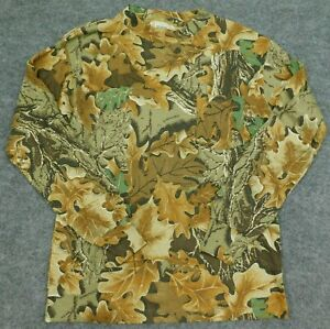 Vintage REDHEAD Shirt MADE IN USA Advantage Woodland Camouflage L/S Men's Medium