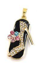 High Heel Schuh Pumps Charm Kristalle Funny USB Stick div Kapazitäten