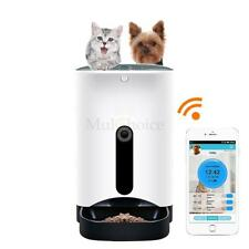 Automatic Pet Feeder for Cat Dog iOS Android App Wifi Food Feeder with Camera