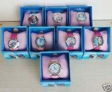 WATCH DISNEY PRINCESS FROZEN QUEEN ELSA ANNA TIME CLOCK GIRLS KIDS XMAS GIFT