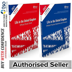 New Life in the United Kingdom UK 2021 3rd edition Citizenship Test Book QA+Std
