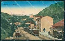 Vicenza Arsiero Stazione Treno cartolina QT2460
