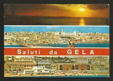 AD7885 Caltanissetta - Provincia - Saluti da Gela - Vedute
