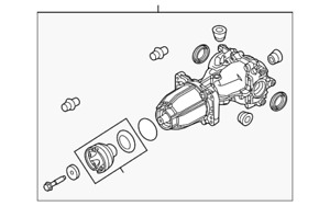 Genuine Ford Differential Assembly S-150-D